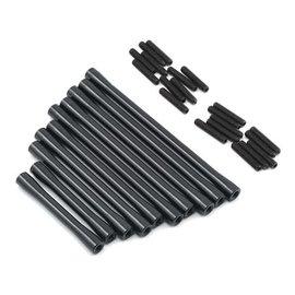 STRC SPTSTA31186BK  SCX10 II RTR HD Suspension/Steering Link Set (10) (Black)