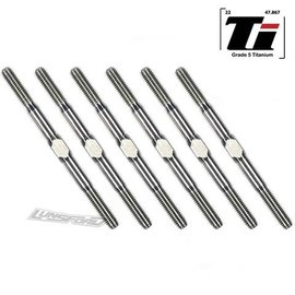 Lunsford LNS20007  3mm PUNISHER Titanium Turnbuckles for Team Associated RC10B6.2