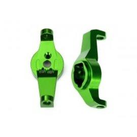 Traxxas TRA8232G  TRX-4 Green Aluminum Caster Blocks (L&R) TRX-6