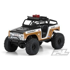Proline Racing PRO3488-11  /10 1966 Ford Bronco Clear Body with Ridge-Line Trail Cage