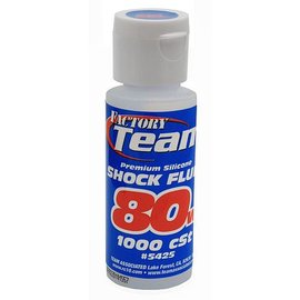 Team Associated ASC5425  80WT Silicone Shock Oil 2 oz