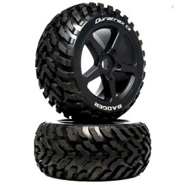 Duratrax DTXC5572  1/8 BADGER Truggy Tire C2 Mounted 0 Offset (2)