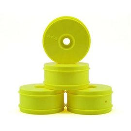 TLR / Team Losi TLR44000  1/8 Buggy Dish Wheel, Yellow (4) Losi 8IGHT-X Elite & 8IGHT-XE