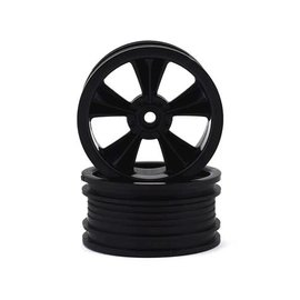 "RPM R/C Products RPM81552  RPM Gloss Black ""N2O"" Resto-Mod Sedan Wheels (2)"