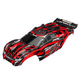 Traxxas TRA6718  Red Rustler® 4X4 Body w/ Supports