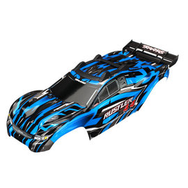 Traxxas TRA6718X  Blue Rustler® 4X4 Body w/ Supports