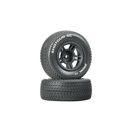 Duratrax DTXC3686  Front Shotgun SC Tire C2 Mounted Tire (2) Slash