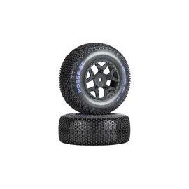 Duratrax DTXC3699  Posse SC C2 Mounted Tires (2) SCTE 4x4