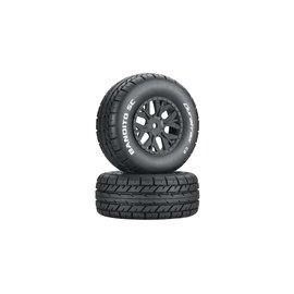 Duratrax DTXC3702  Bandito SC C2 Mounted Tires (2) SC10 4x4
