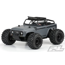 Proline Racing PRO3504-00  Ambush Monster Truck Clear Body w/Ridge-Line Trail Cage