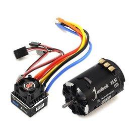 Hobbywing HWI38020243  XR10 Justock Sensored Brushless ESC/SD G2.1 Motor Combo (25.5T)