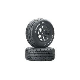 Duratrax DTXC3703  Bandito SC C2 Mounted Tires: SCTE 4x4 (2)