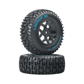 Duratrax DTXC3675  Lockup SC Tire C2 Mounted: Losi Ten SCTE 4x4(2)