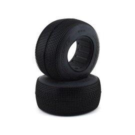 J Concepts JCO3128-01  Blue Sprinter Short Course Dirt Oval Tires (2)