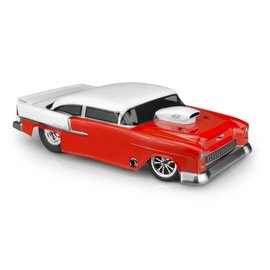 J Concepts JCO0365  1955 Chevy Bel Air, Street Eliminator Drage Race Clear Body
