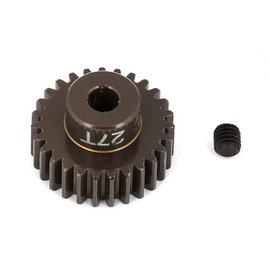 Team Associated ASC1345 FT Aluminum Pinion Gear, 27T 48P, 1/8 shaft