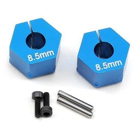 Team Associated ASC71014  B6.1 T6.1 Clamping Wheel Hexes 8.5mm (2)