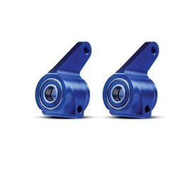 Traxxas TRA3636A  Blue Anodized Aluminum Steering Blocks w/ Ball Bearings (2)