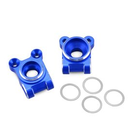 J Concepts JCO2536-1  B74 Blue Aluminum Rear Hub Carrier