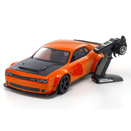 Kyosho KYO34107  INFERNO GT2 VE Dodge Challenger SRT Demon Go Mango