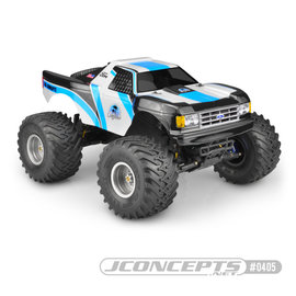 "J Concepts JCO0405  1989 Ford F-150 ""California"" Traxxas Stampede Clear Body"