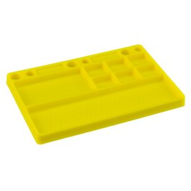 J Concepts JCO8117  Dirt Racing Yellow Rubber Parts Tray