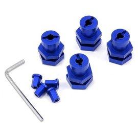 STRC SPTST1654-17B  Blue 17mm Hex Conversion Kit for Slash 4X4,  Rustler 4X4, Stampede 4X4