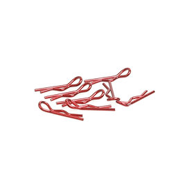 Core RC CR067  Red Metallic Small Body Clips (8)