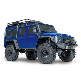Traxxas TRA82056-4  Blue TRX-4 1/10 Crawler Defender Land Rover