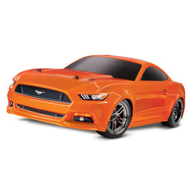 Traxxas TRA83044-4  Orange Ford Mustang 4-Tec 2.0 RTR w/o Battery & Charger