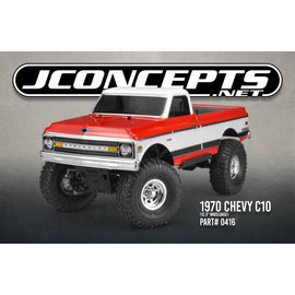 "J Concepts JCO0416  1970 Chevy C10 12.3"" Wheelbase Crawler Body"