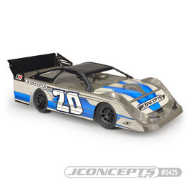 "J Concepts JCO0425  L8D ""Decked"" 10.25 Wide 1/10th Late Model Body w/ Rear Super Spoiler"