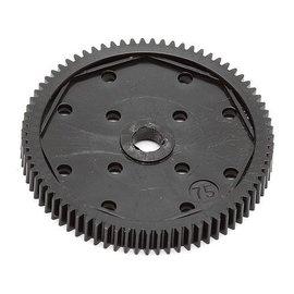 Team Associated ASC9650  FT Spur Gear, 75T 48P  B6/D B4 T4 SC5M B64