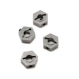 STRC SPTST1654GM  Gun Metal Aluminum 12mm Hex Adapters (4) (Slash 4x4)