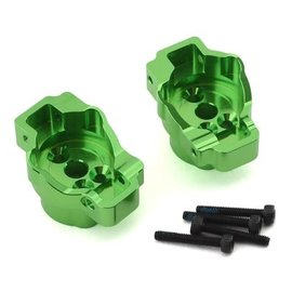 Traxxas TRA8256G  Green Aluminum Rear Portal Drive Axle Mounts (L/R) TRX-4 TRX-6