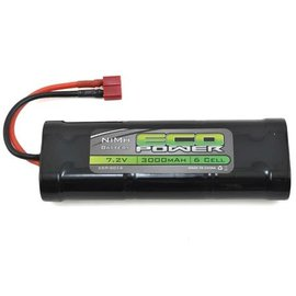 Eco Power ECP-5014  6-Cell NiMH Stick Pack Battery w/Deans Plug (7.2V/3000mAh)