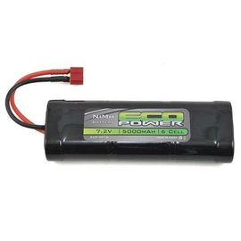 Eco Power ECP-5016  6-Cell NiMH Stick Pack Battery w/Deans Plug (7.2V/5000mAh)