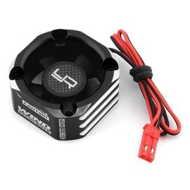 Yeah Racing YEA-YA-0576BK  Black Aluminum 30x30mm Case Booster Fan