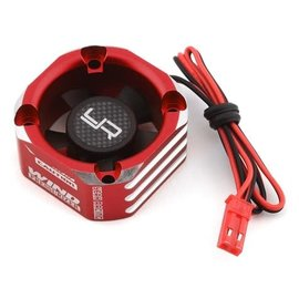 Yeah Racing YEA-YA-0576RD  Red Aluminum 30x30mm Case Booster Fan