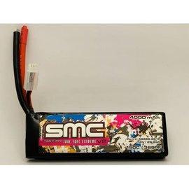 SMC SMC40389-2S2PXT90  Drag Pack 2S 7.4v 4000mAh 150C Softcase LiPo w/ XT90 Plug