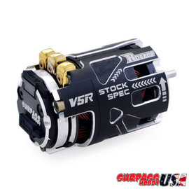 Surpass Hobby USA V5R-10.5 Rocket V5R SPEC 10.5T Sensored Brushless Motor Silver/Black