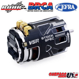 Surpass Hobby USA V5R-17.5 Rocket V5R SPEC 17.5T Sensored Brushless Motor Silver/Black