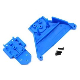 RPM R/C Products RPM73565 Front Bulkhead Slash 4×4 & Rally LCG Blue