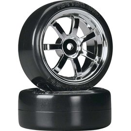 HPI HPI4739  T-Drift/Rays 57S Wheels 26mm Chrome (2)