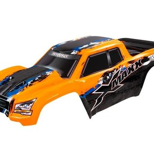 Traxxas TRA7811  Orange X-Maxx Monster Truck Pre-Painted Body 7811