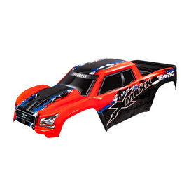 Traxxas TRA7811R  Red X-Maxx Pre-Painted Monster Truck Body