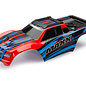 Traxxas TRA8911P  RedX Maxx Monster Truck Pre-painted Body