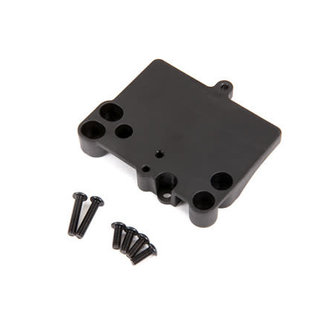 Traxxas TRA3725R   Electronic Speed Controller Mounting Plate for VXL Rustler & Bandit