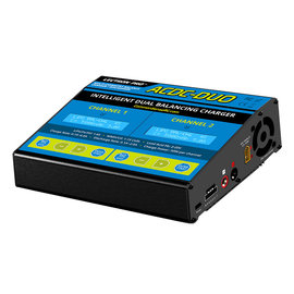 Lectron Pro ACDC-DUO  Two-Port Multi-Chemistry Balancing Charger (LiPo/LiFe/LiHV/NiMH)
