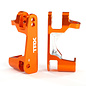 Traxxas TRA6832A  Orange Aluminum Caster Block Set (2) Slash Stampede 4x4 XO-1